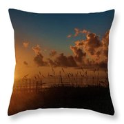 Playalinda Sunrise Throw Pillow