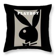 Playboy, January 1964 Throw Pillow