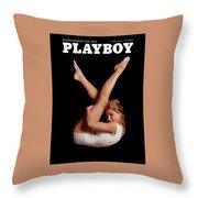 Playboy, May 1964 Throw Pillow