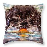 Playful..2 Throw Pillow