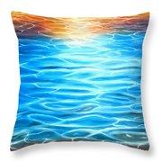Playful Light Throw Pillow