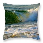 Playful Surf Throw Pillow