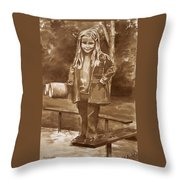 Playground 2 Throw Pillow