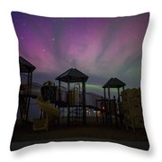 Playground Aurora Throw Pillow