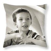 Playground Physics Throw Pillow