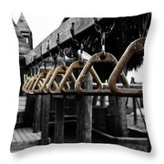 Playground Rules Throw Pillow