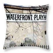 Playhouse Throw Pillow