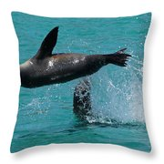 Playing Again Throw Pillow