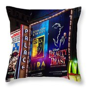 Playing At The Palace Throw Pillow