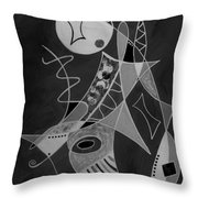 Playing Go Fish Throw Pillow
