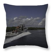 Playing In The Keys Throw Pillow