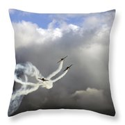 Playing In The Sky Throw Pillow