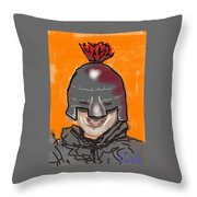 Playing Knight Throw Pillow