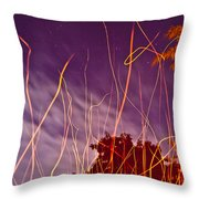Playing With Fire  I Throw Pillow