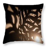 Playing With Shadows Throw Pillow