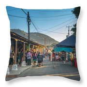 Plaza Central Apaneca Throw Pillow