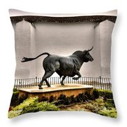 Plaza De Toros - Ronda Throw Pillow