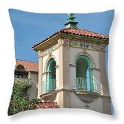 Plaza Tower Throw Pillow