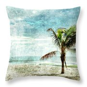 Pleasant Blue - Jersey Shore Throw Pillow
