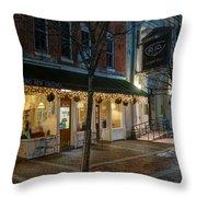 Pleasant Coffee 023 Throw Pillow