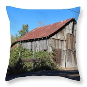 Pleasant Valley Barn 6 Throw Pillow