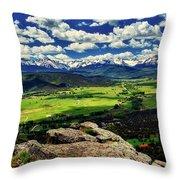 Pleasant Valley Colorado Throw Pillow