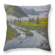Pleasant Valley Throw Pillow