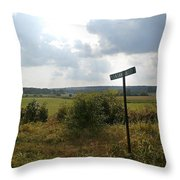 Pleasant Valley Throw Pillow