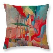 Pleasantly Lost Throw Pillow