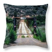 Please Keep Out Throw Pillow