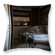 Please Dont Turn Out The Light - Urban Exploration Throw Pillow