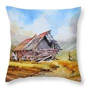 Pleasent Valley Barn Throw Pillow