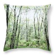 Pleasure Of Pathless Woods - Alt Throw Pillow