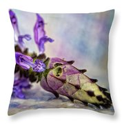 Plectranthus On Show Throw Pillow