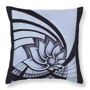 Pleiadean Daisy Throw Pillow