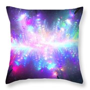 Pleiadian Stars Throw Pillow