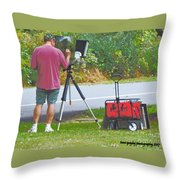 Plein Air L'automne Throw Pillow