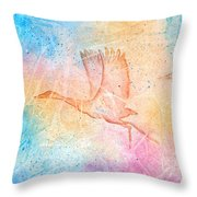 Pleistocene Dreams 2 Throw Pillow