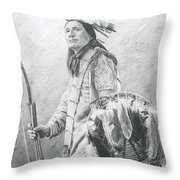 Taopi Ota - Lakota Sioux Throw Pillow