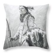 Taopi Ota - Lakota Sioux Throw Pillow