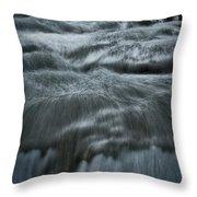 Plitvice Cascades #2 Throw Pillow