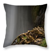 Plitvice Waterfalls Throw Pillow