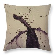 Plum Magical Throw Pillow