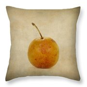 Plum Vintage Look Throw Pillow