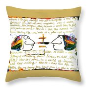 Plus Minus Throw Pillow