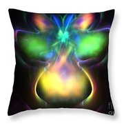 Pluto Firefly Throw Pillow