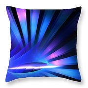 Pluto Rays Throw Pillow