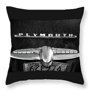 Plymouth 2 Throw Pillow