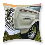 Plymouth Belvedere II  Throw Pillow
