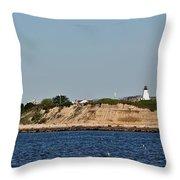Plymouth Bluffs Throw Pillow